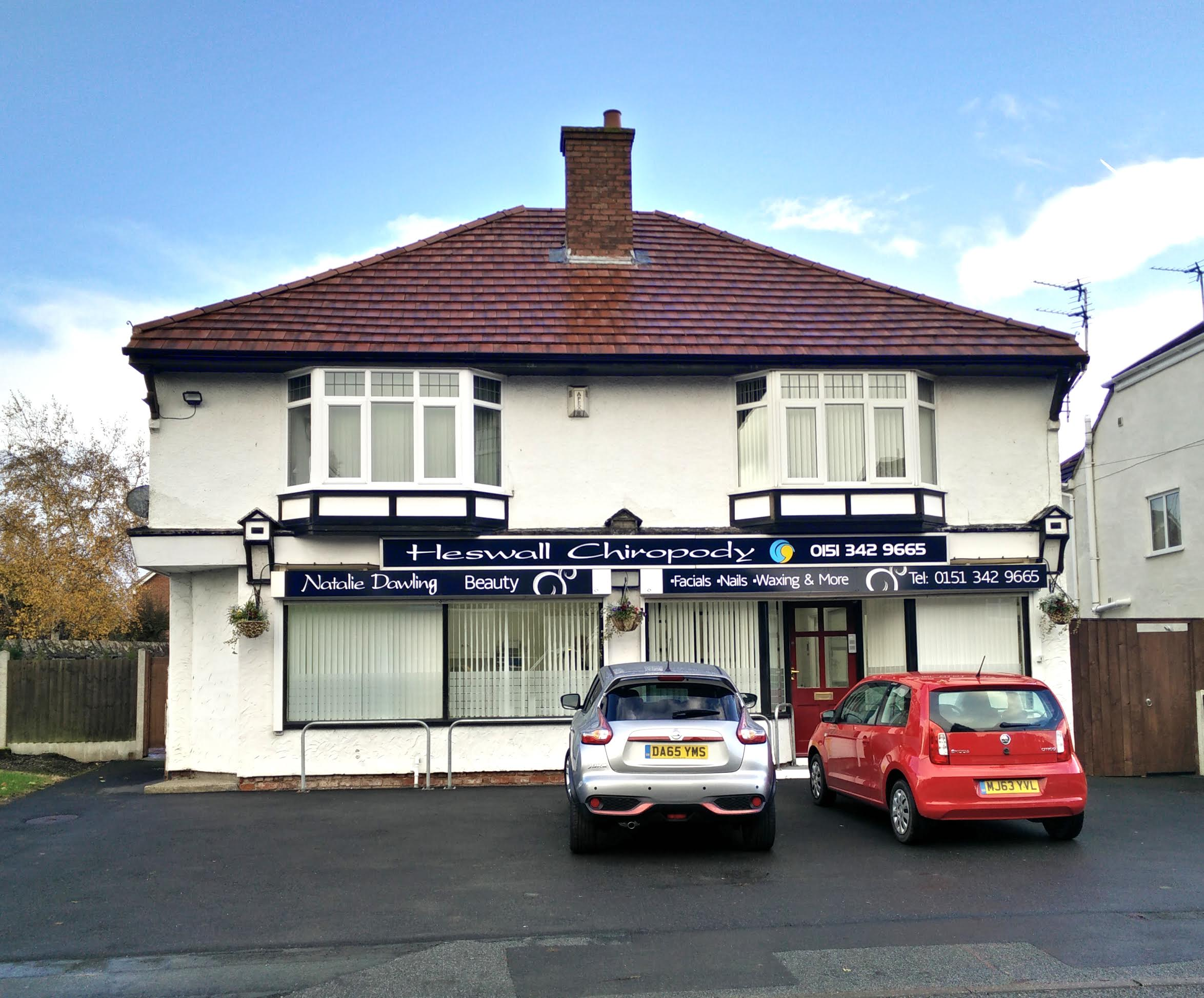 Heswall Chiropody Building, Milner Road